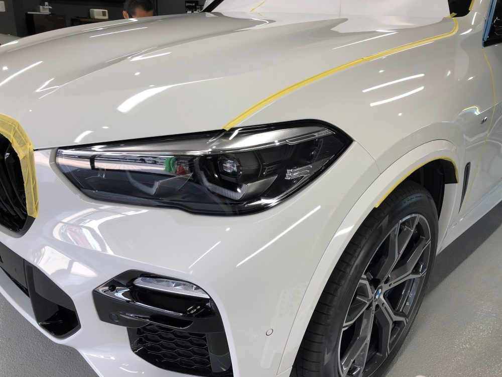 BMW 研磨作業