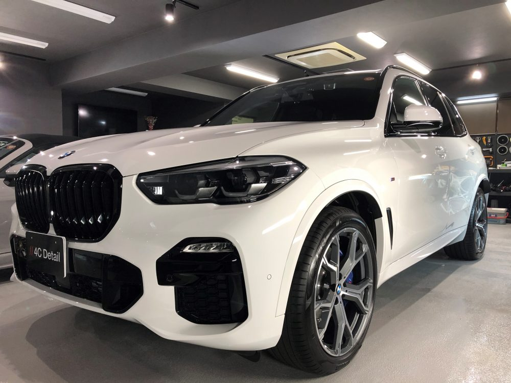 BMW X5 ガラスコーティング施工