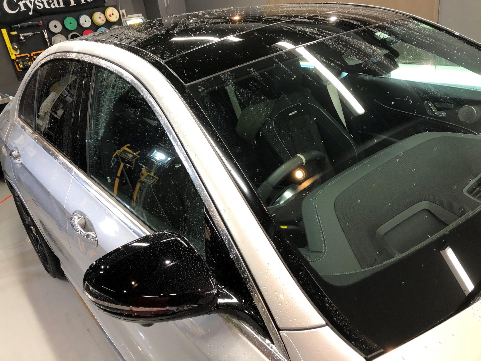 メルセデスAMG E63 洗車